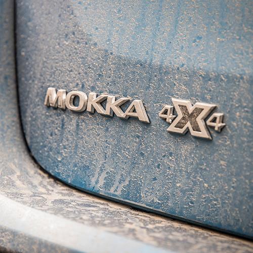 Opel Mokka X, Allradantrieb, 4x4, Logo