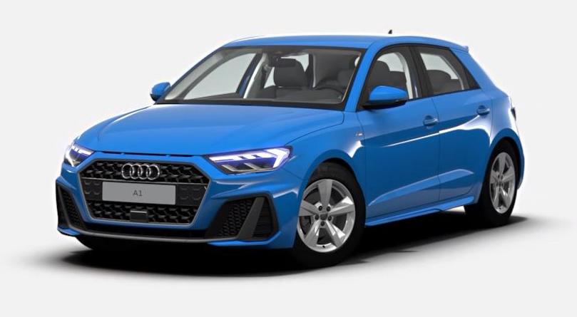 "Audi A1 Sportback ""S line""."