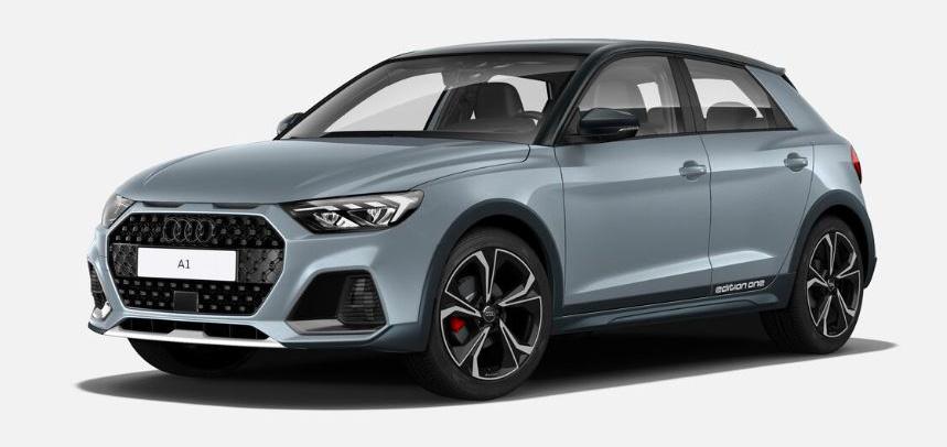 """Der Audi A1 citycarver als Rohmodell in der Ausstattungslinie """"edition one""""."""