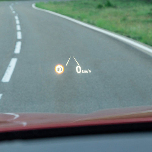 Hyundai Santa Fe, Head-Up-Display