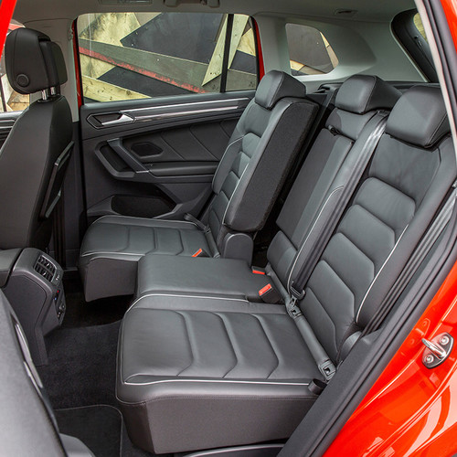 VW Tiguan II, Fond, Innenraum