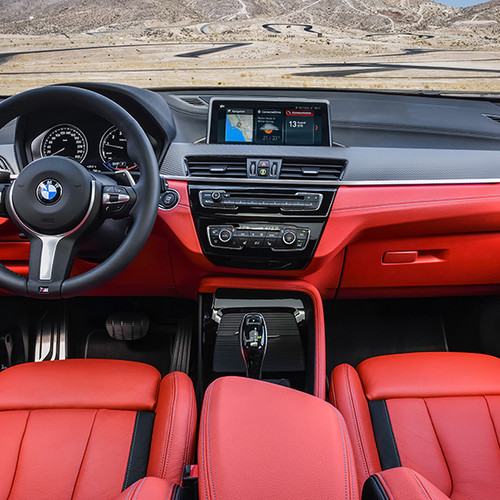BMW X2 M35i, Innenansicht, Cockpit