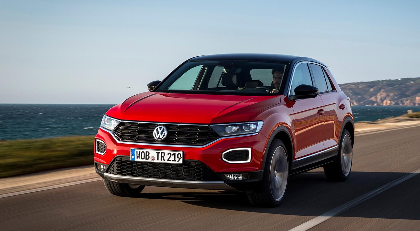 """Wird immer wieder als der inoffizielle """"VW Golf SUV"""" bezeichnet: Das smarte Crossover T-Roc."""