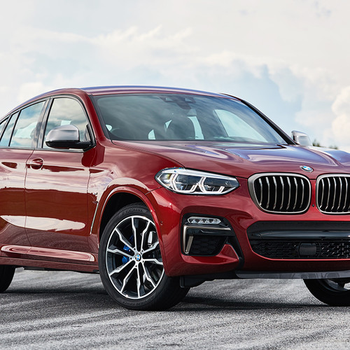 BMW X4 2018, M40d, Frontansicht