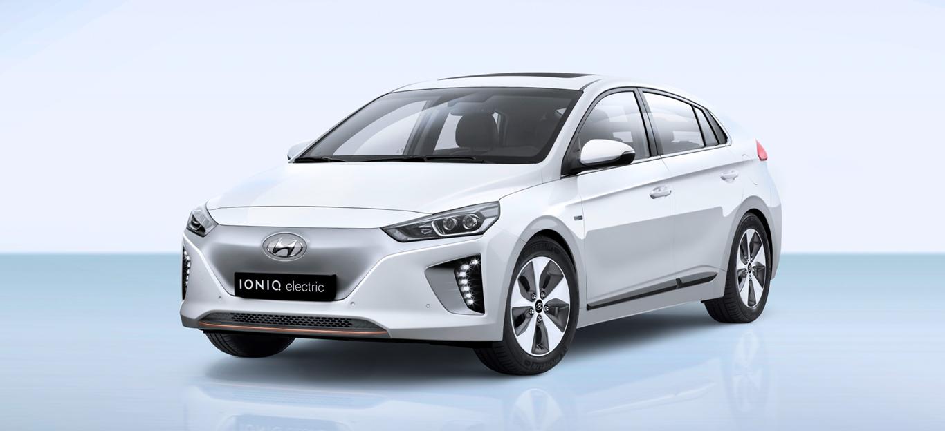 Seitenansicht des Hyundai Ioniq Electric