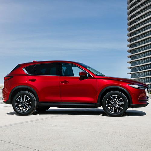 Mazda CX-5, Seitenansicht, rot