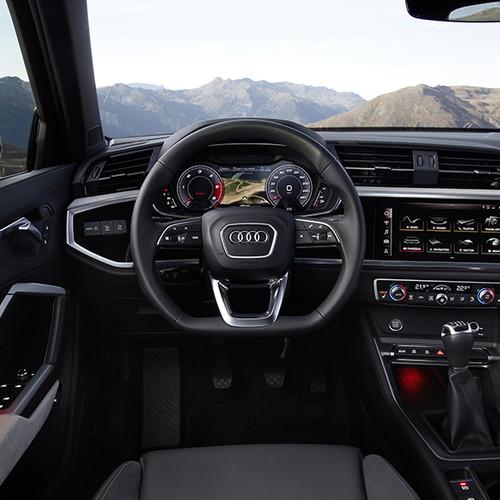Audi Q3 2019, Innenansicht, Cockpit I