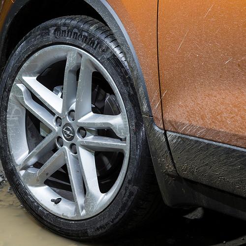 Opel Mokka X, Felgen, beige orange