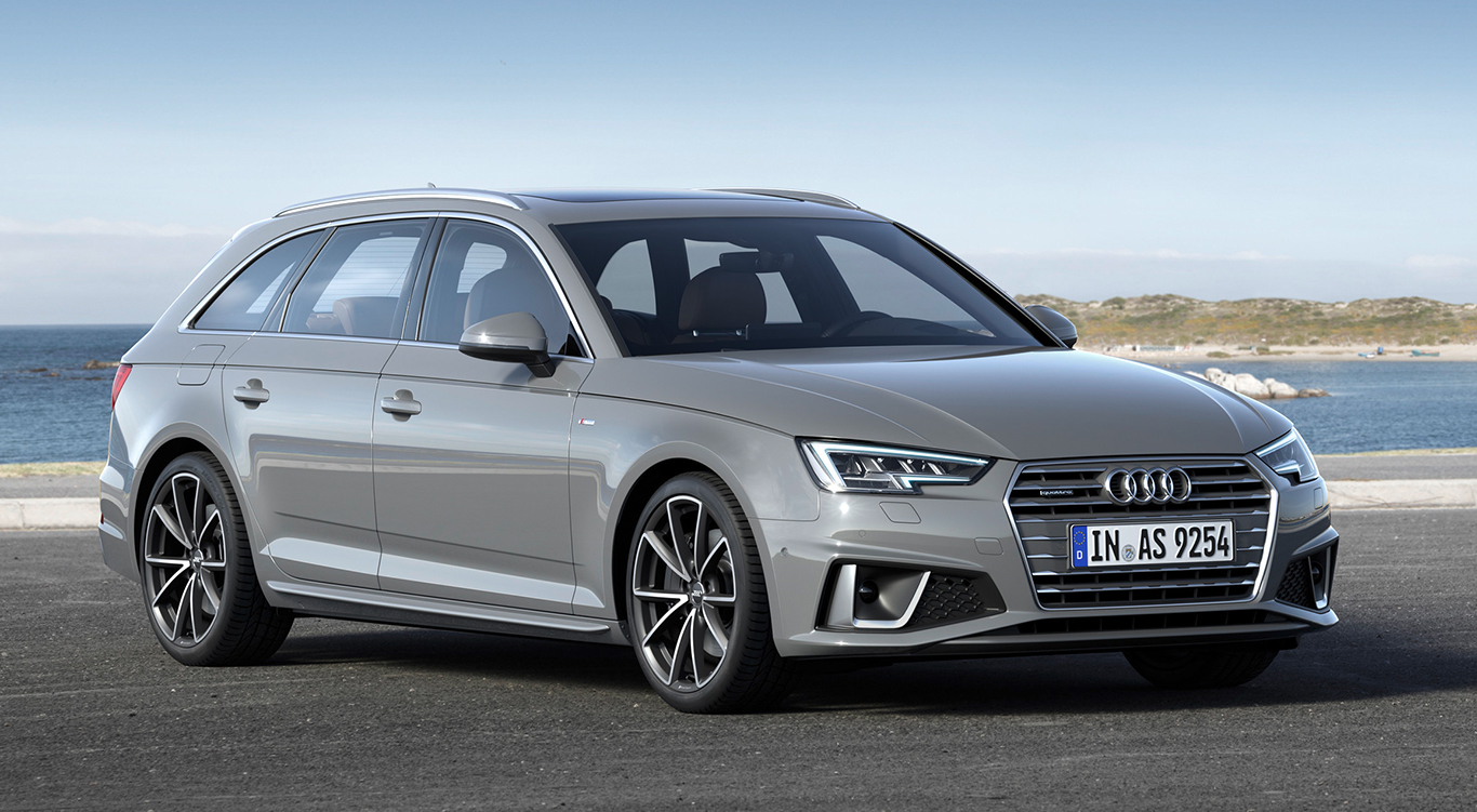 Audi A4 Avant mit S line-Exterieur.