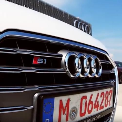 Kühlergrill des Audi S1