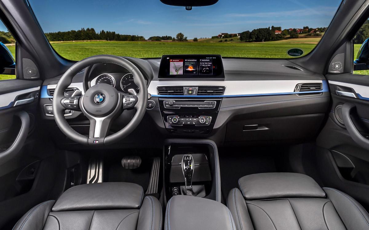 Der neue BMW X1 2019 von innen. - Foto: BMW