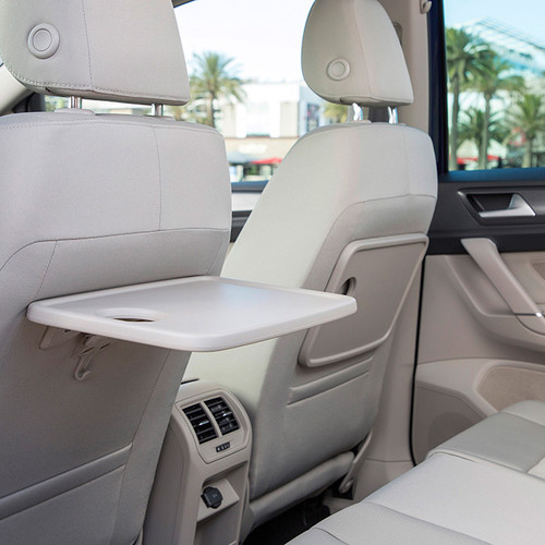 VW Golf Sportsvan 2018 Facelift Innenraum Tisch
