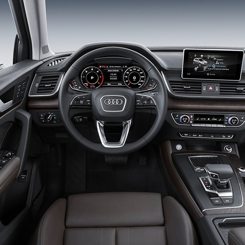 Innenraum des Audi Q5.