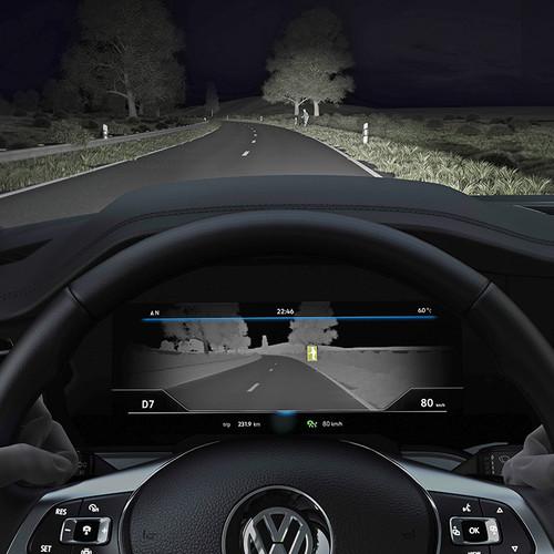 VW Touareg 2018, Nachtsichterkennung