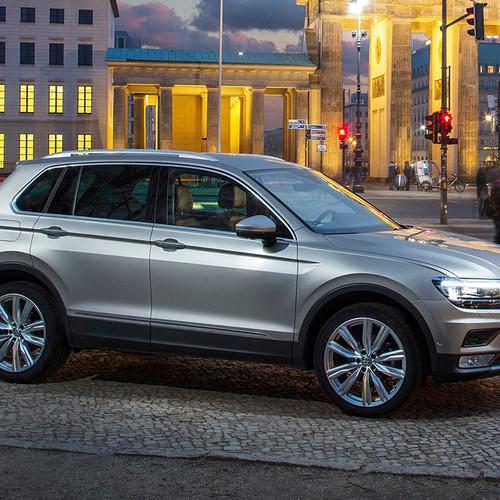 VW Tiguan II, Seitenansicht