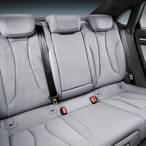 Audi A3 Limousine, Innenansicht, Fondsitze