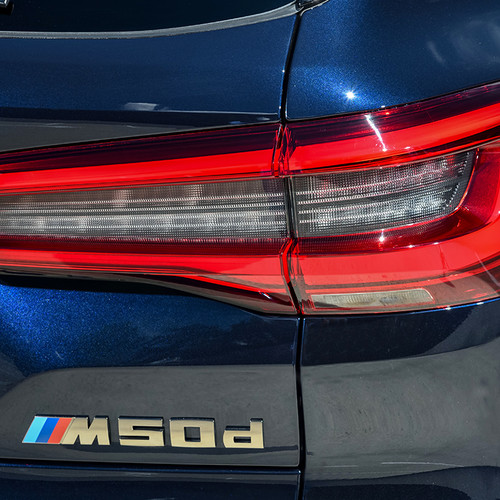 BMW X5, M50d, Heckscheinwerfer, G05