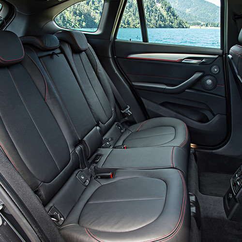 BMW X1, Fondansicht