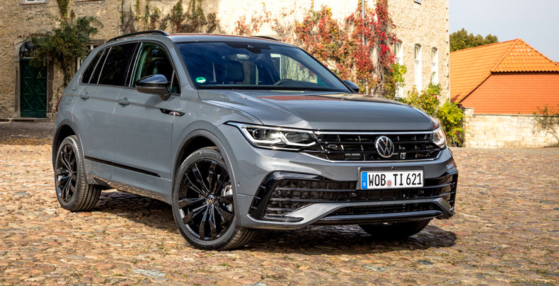 Das neue Tiguan-Facelift-Modell. - Foto: VW