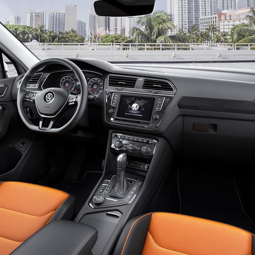 VW Tiguan II, Cockpit, Innenraum