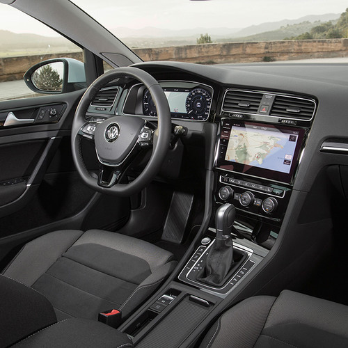 VW Golf 7 Variant, Facelift, Cockpit