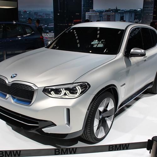 BMW iX3 Concept, Frontansicht