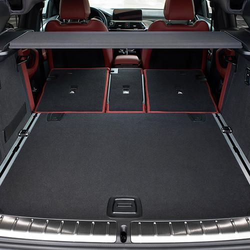 BMW X4 2018, Kofferraum, Rücklehne