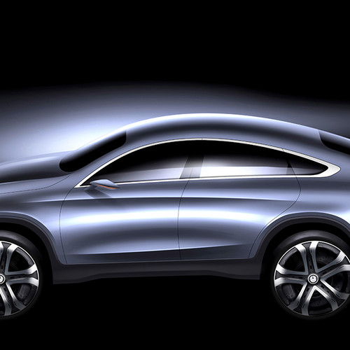 Mercedes GLE Coupé 2020, Studie
