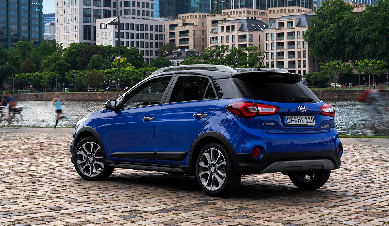 Rustikaler Kleinwagen auch für besondere Zwecke: der Hyundai i20 Active.