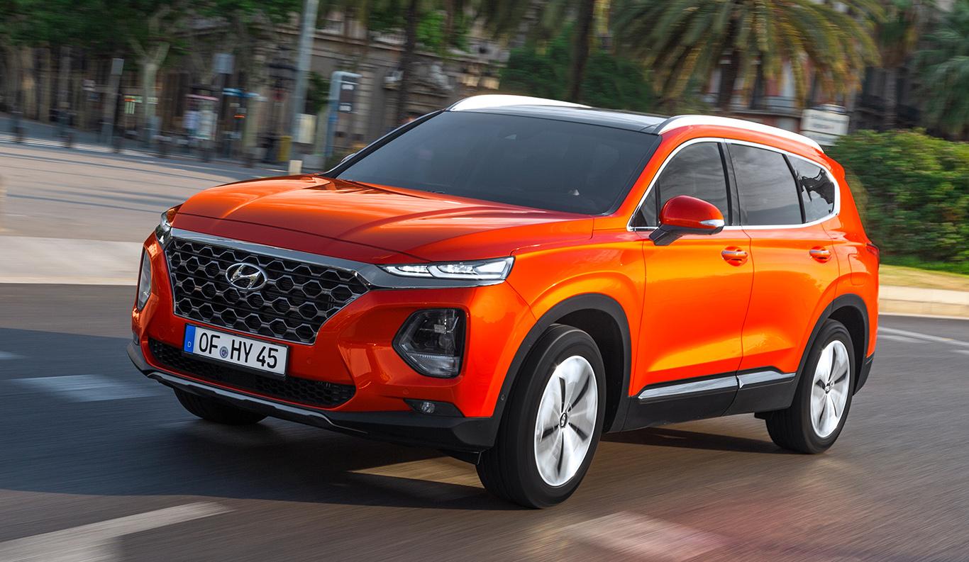 Foto: Neues SUV mit Premium-Charakter: die vierte Generation des Hyundai Santa Fe.