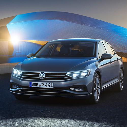 VW Passat 2019, Facelift, Limousine, Frontansicht
