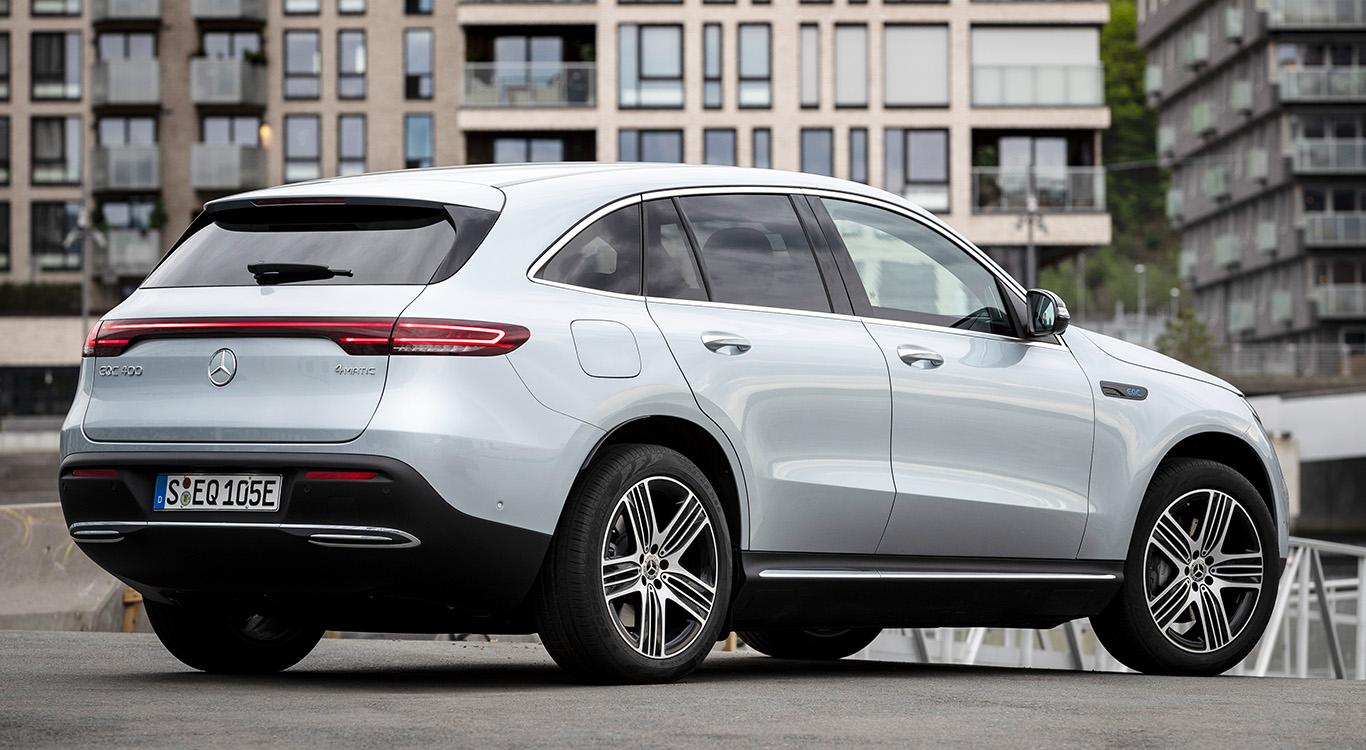 Mittelgroßes SUV als Begründer der Elektro-Offensive von Daimler: Mercedes EQC. Mittelgroßes SUV als Begründer der Elektro-Offensive von Daimler: Mercedes EQC.